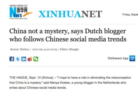 Interview – China is not a Mystery (Xinhua)