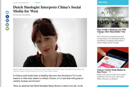 Interview – Interpreting Chinese Social Media (Caixin)
