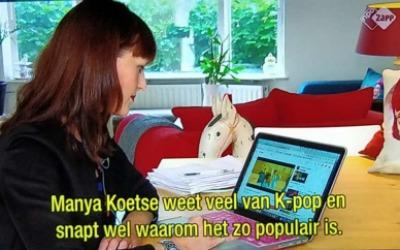 Bij het Jeugdjournaal over Succes van Kpop in Nederland